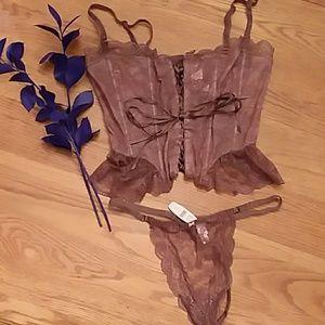 Victoria's Secret Intimates & Sleepwear - 😍 Corset & Thong Set